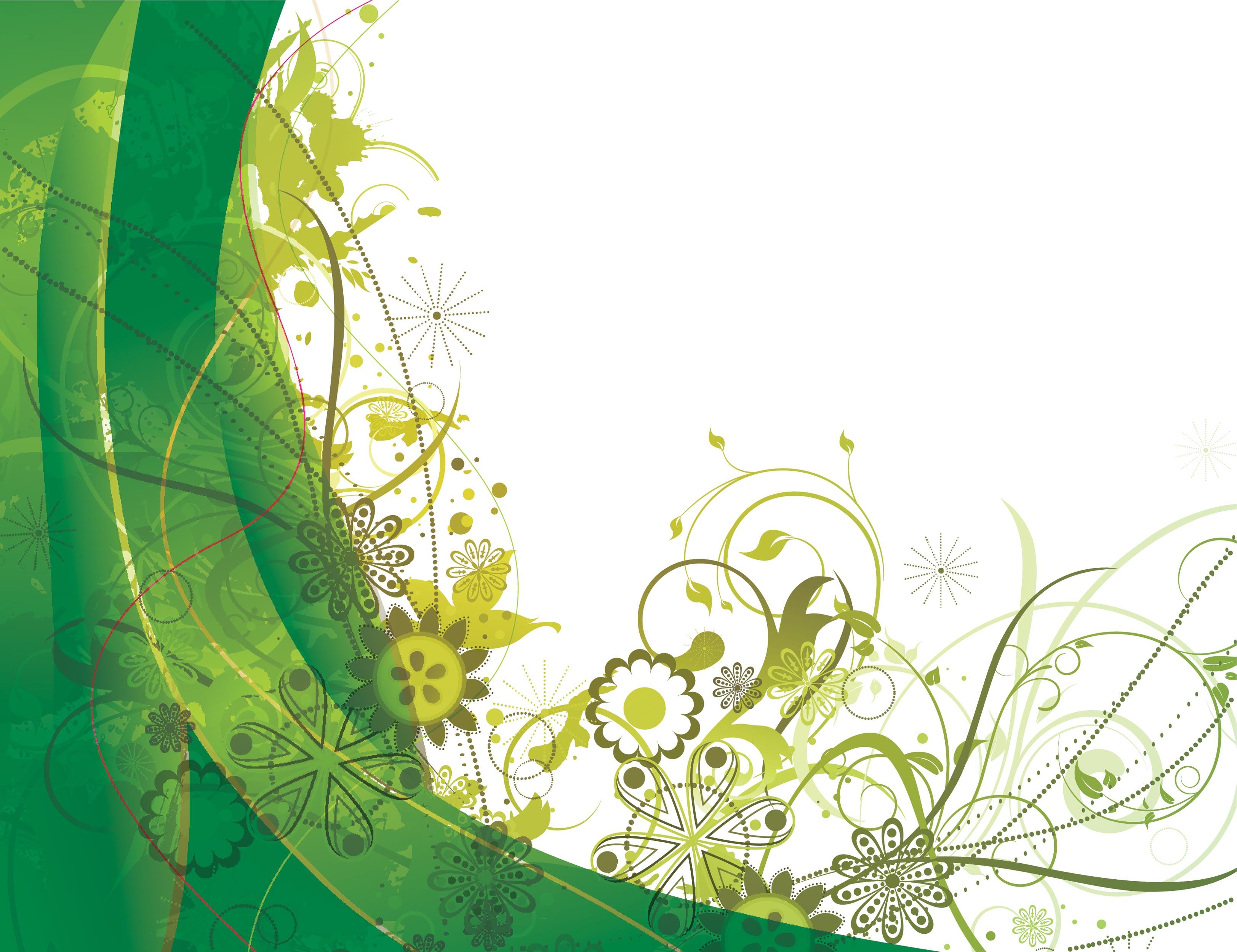 Зеленая открытка, для детей