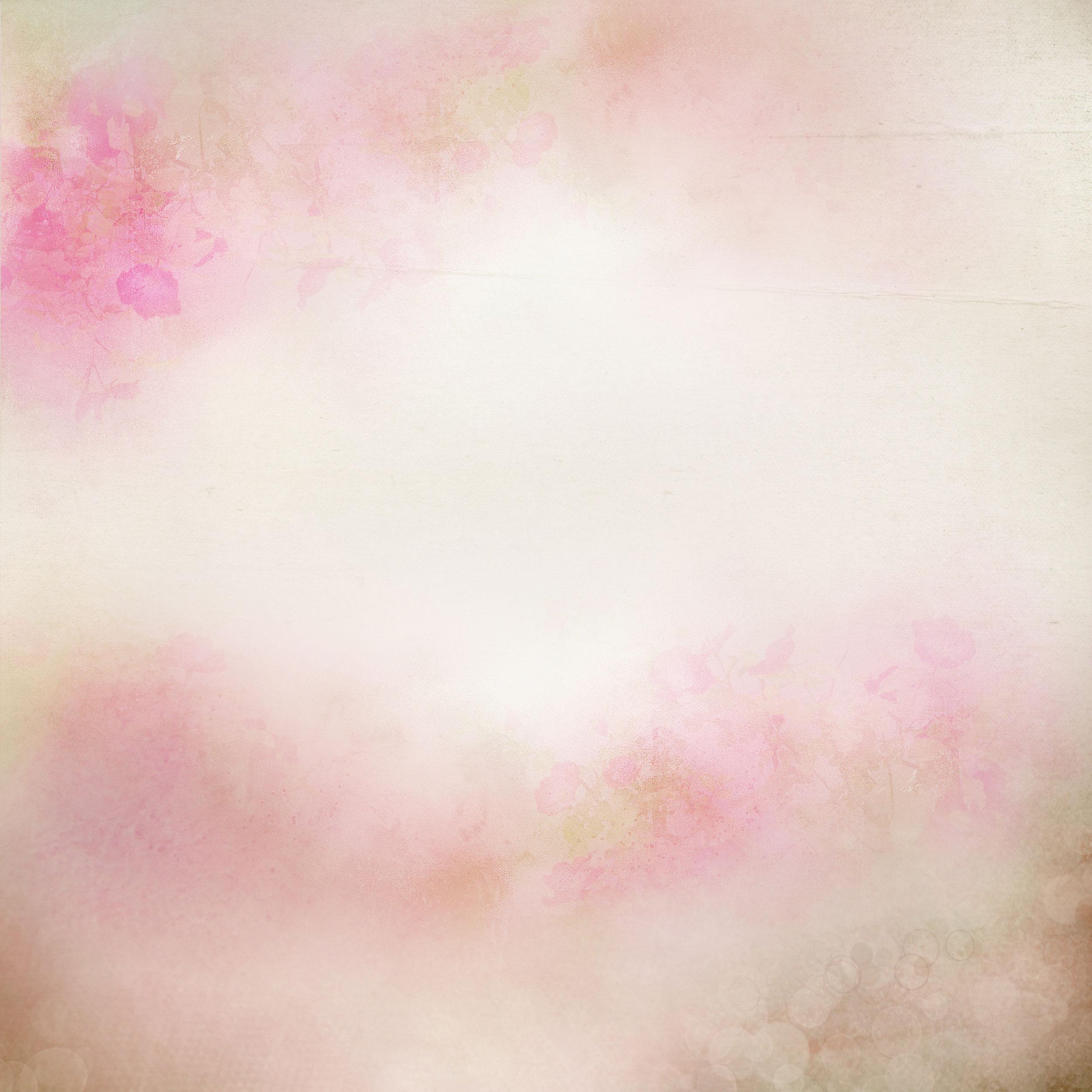 ピンクの花のイラスト『背景・壁紙用』/無料のフリー素材集【百花繚乱】