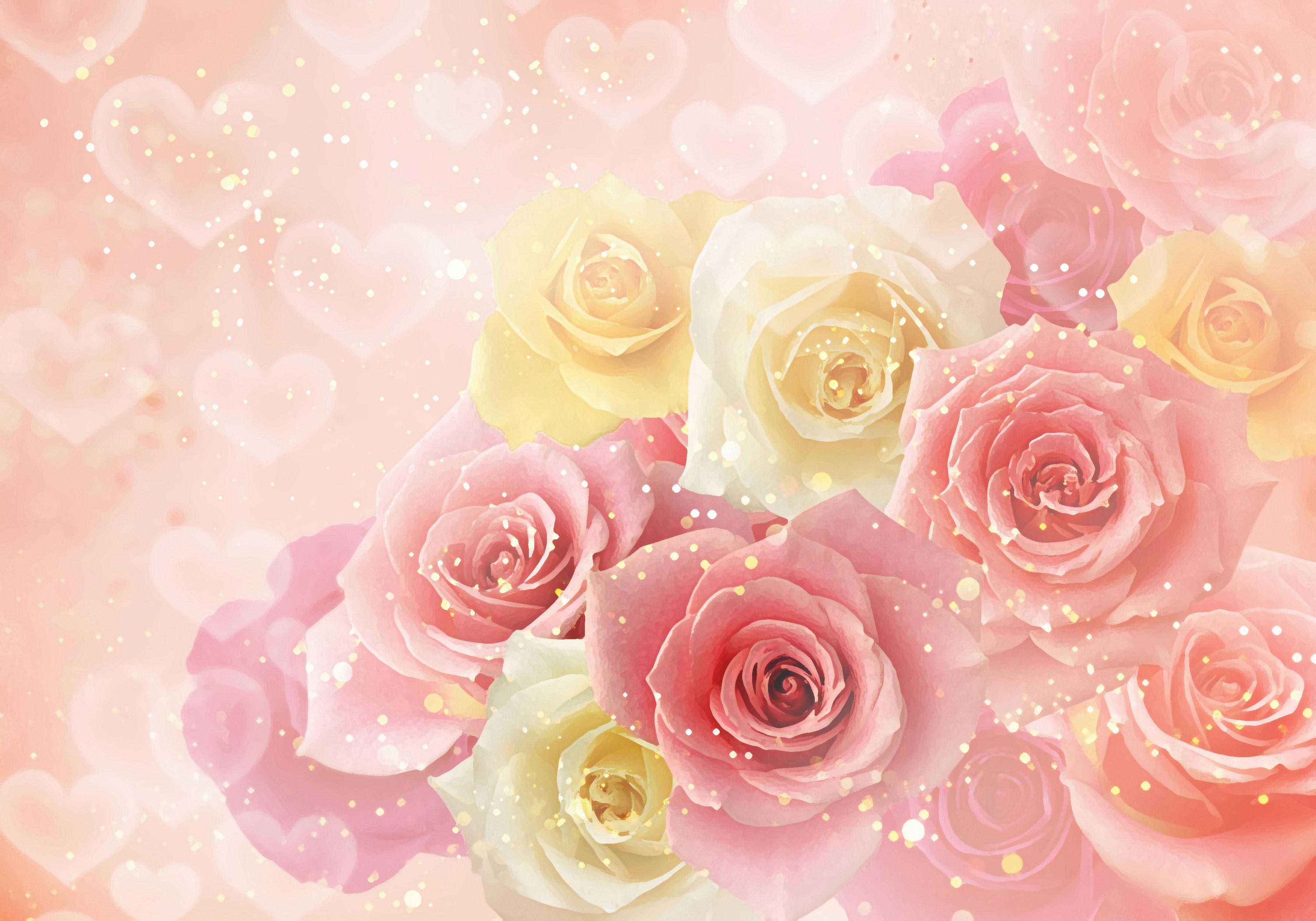 薔薇の壁紙 無料