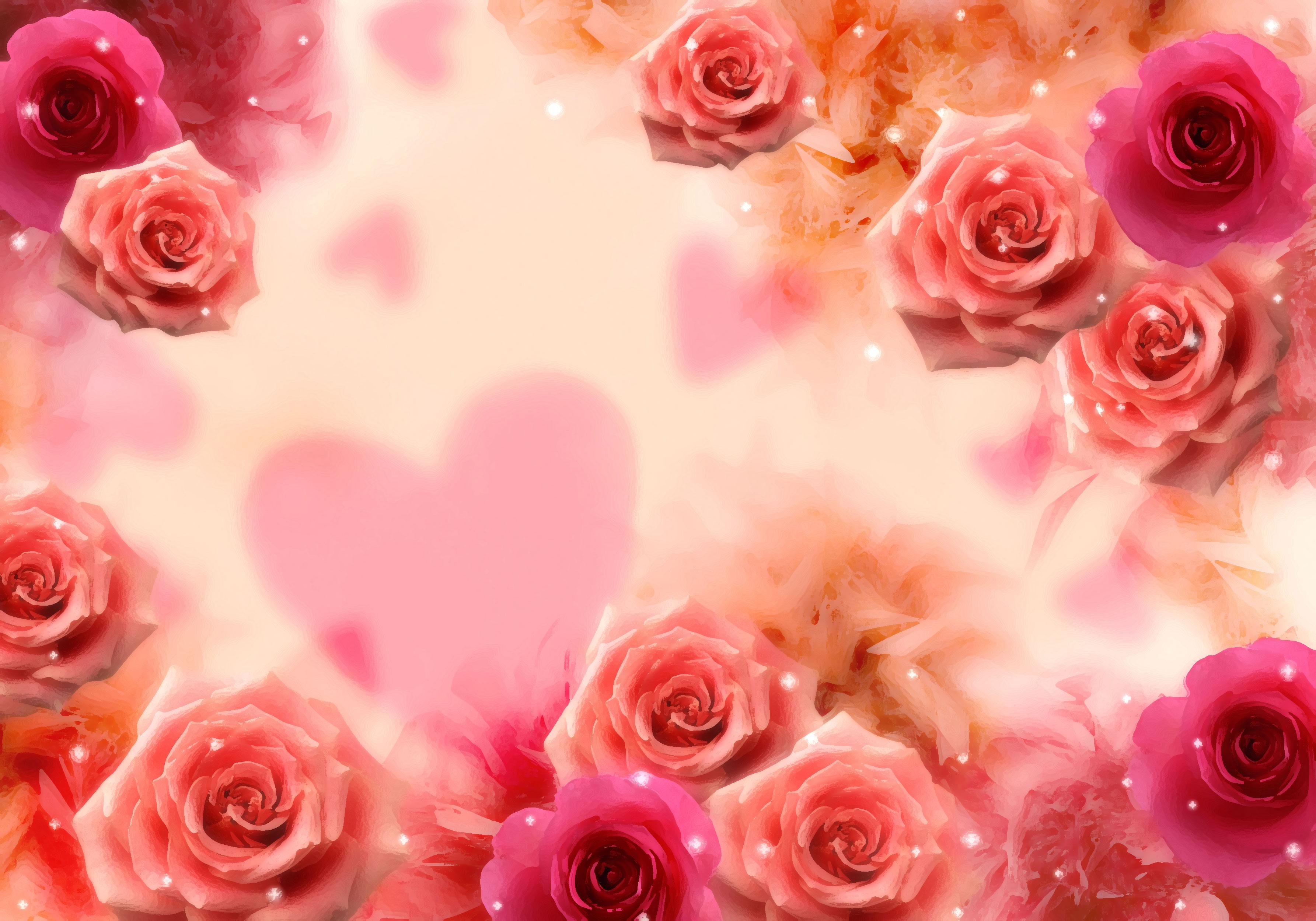 薔薇 背景 素材 フリー 花 Wwwthetupiancom