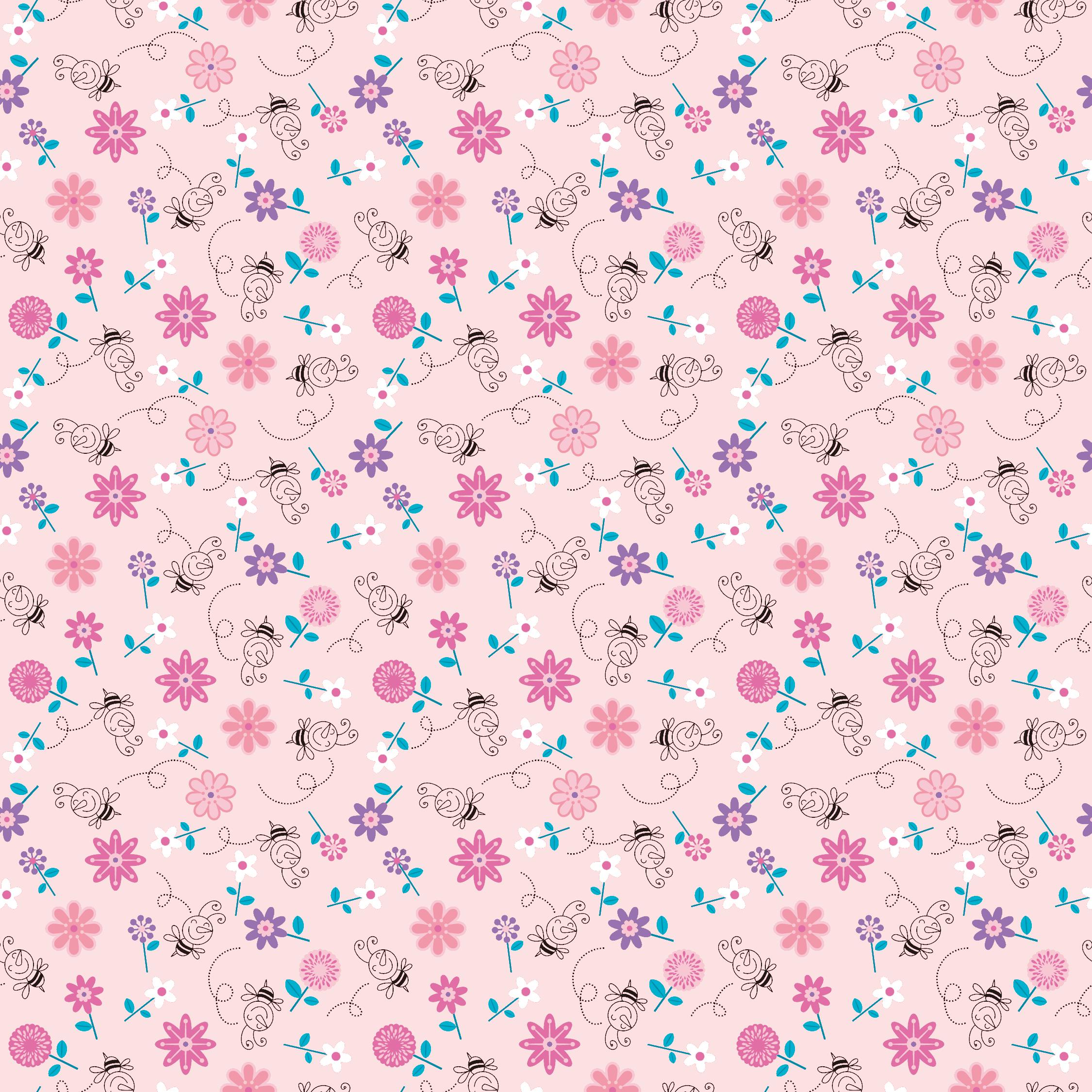 花の壁紙 背景のイラスト 画像no 026 壁紙 花とミツバチ 無料の