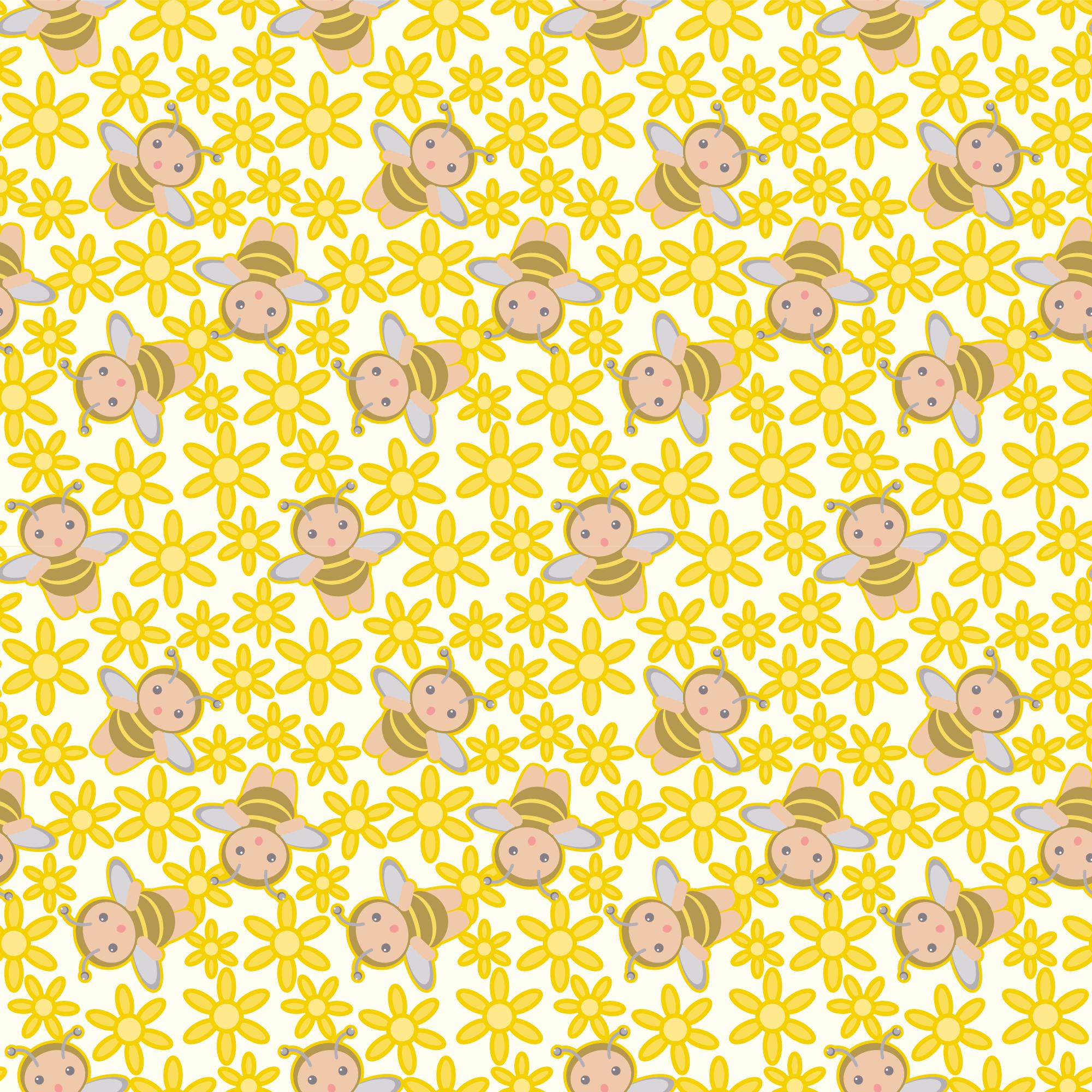 花の壁紙 背景のイラスト 画像no 028 壁紙 花とミツバチ 無料の