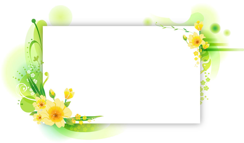 ... カードと草花』/無料のフリー