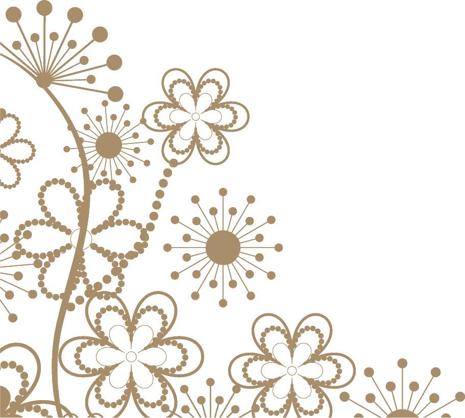 ポップでかわいい花のイラストフリー素材no100花のイメージ