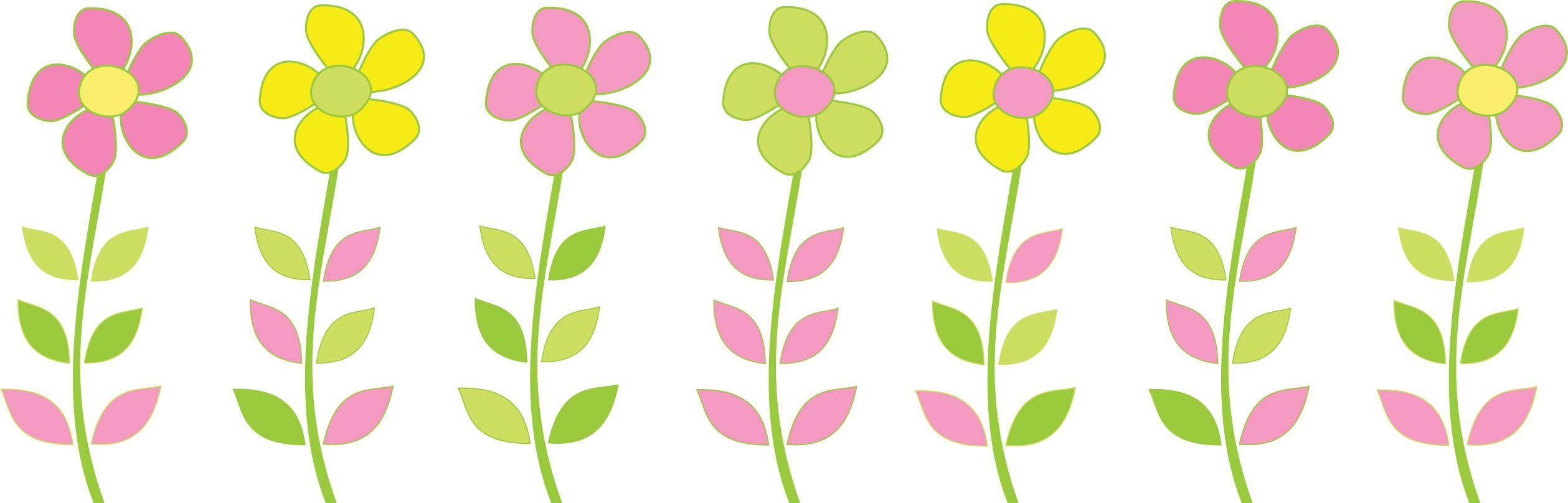 花のイラスト・フリー素材/フレーム枠no.078『暖色系フラワー』
