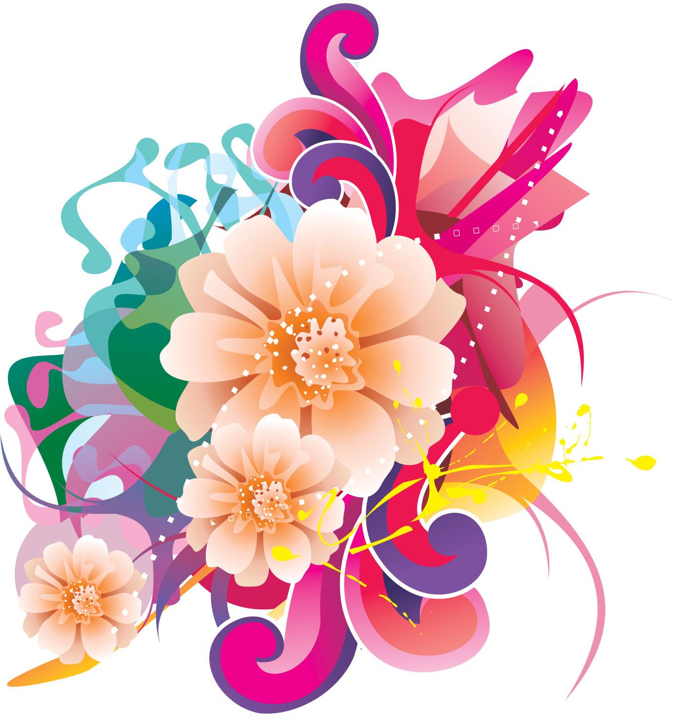 花束のフリーイラスト,サンプル