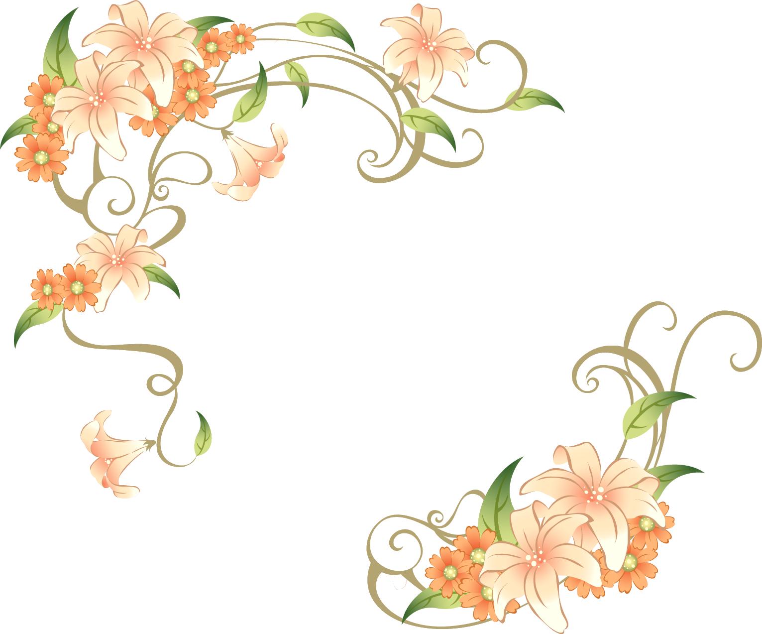 花のイラスト・画像・フリー ...