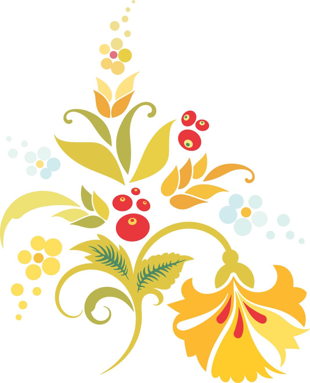 かわいい花・ポップな花のイラスト4/無料のフリー素材集【百花繚乱】