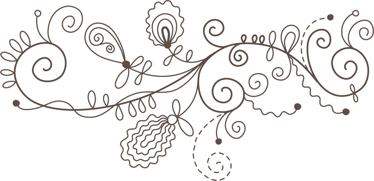 花のイラスト フリー素材 白黒 モノクロno 021 白黒 かわいい絵8