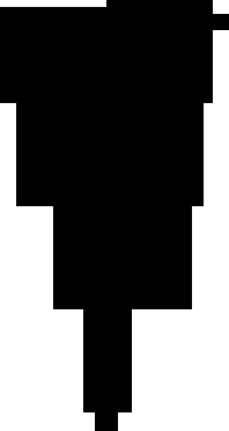 花のイラストフリー素材白黒モノクロno169白黒バラ茎葉