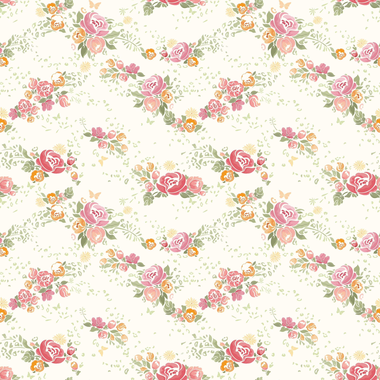 壁紙 背景イラスト 花の模様 柄 パターン 無料のフリー素材集 百花繚乱