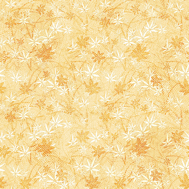 葉っぱや草木のイラスト/壁紙・背景no.015『秋の紅葉・網目模様』