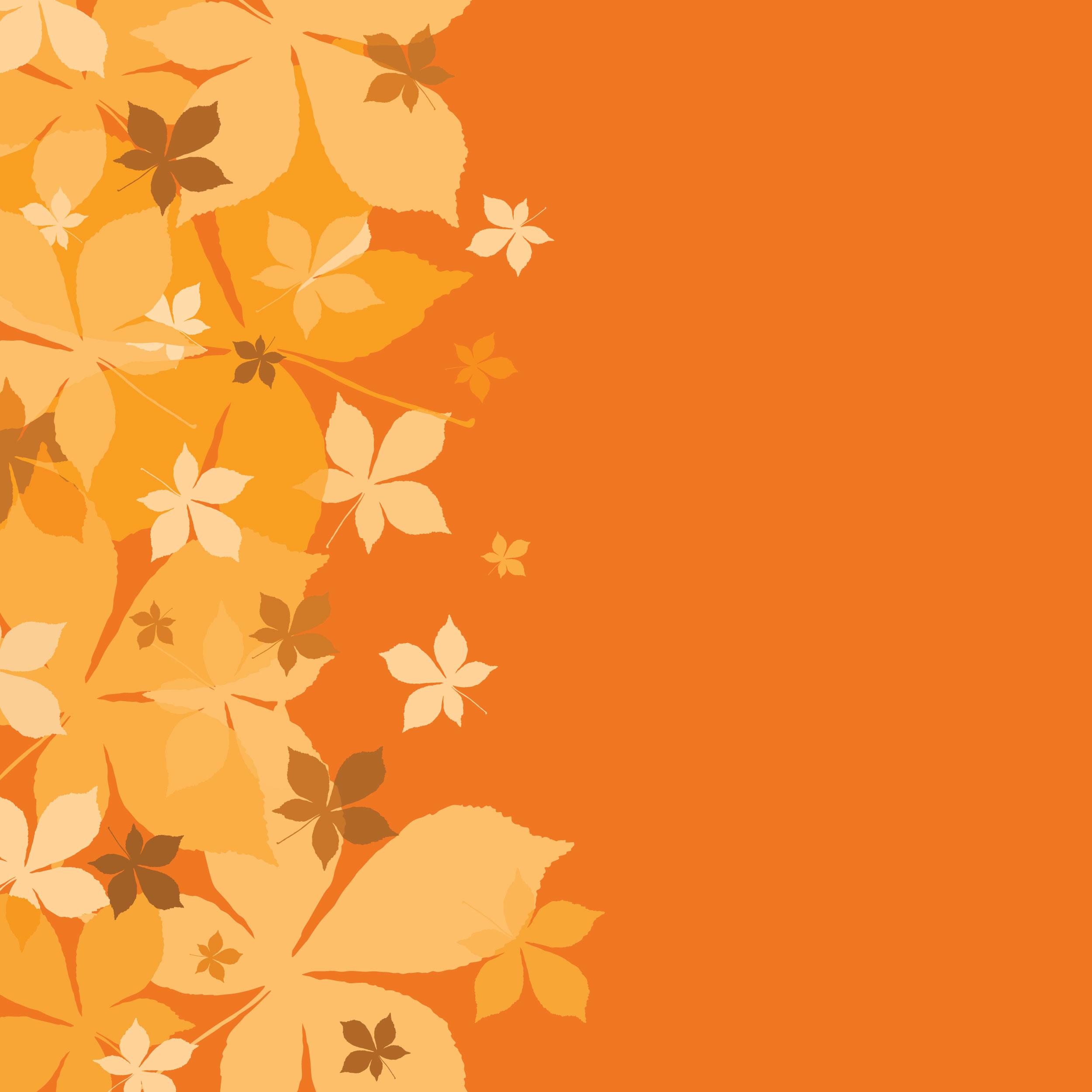 葉っぱや草木のイラスト『壁紙・背景』/無料のフリー素材集【百花繚乱】