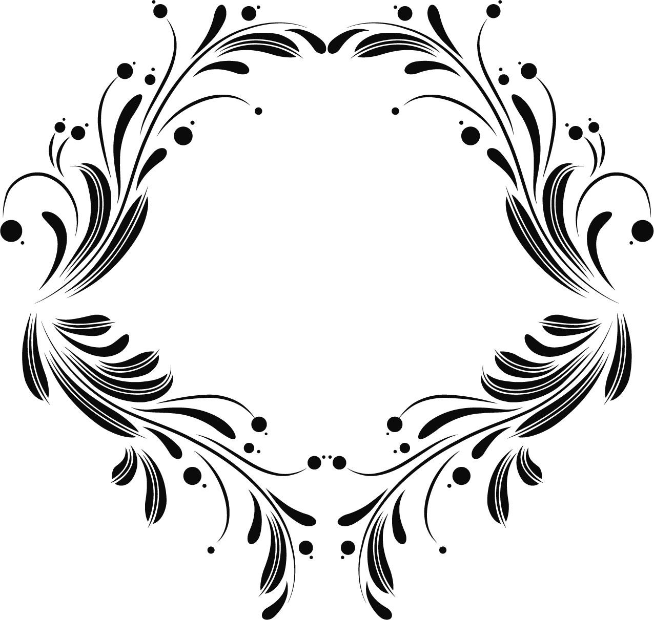 葉っぱや草木のイラスト・写真『フレーム・外枠』/無料のフリー素材集